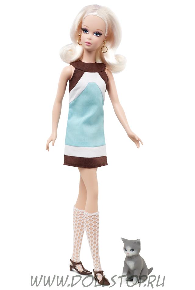 Коллекционная кукла  Фрэнси Кошачий уголок (подруга Барби) - Kitty Corner Francie Doll