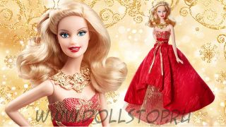 Кукла праздничная барби