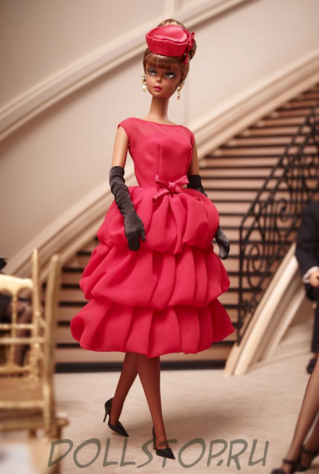 Коллекционная кукла Барби Маленькое красное платье - Little Red Dress Barbie Doll 2015